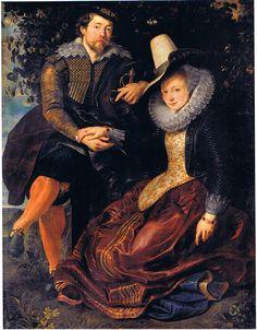 Self-portrait - Rubens (1-belgianart
