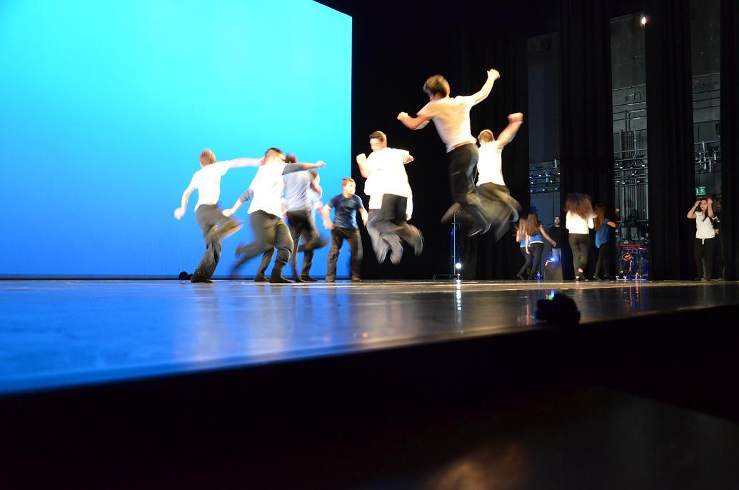 Χορογροφία στη Στέγη Γραμμάτων Τεχνών