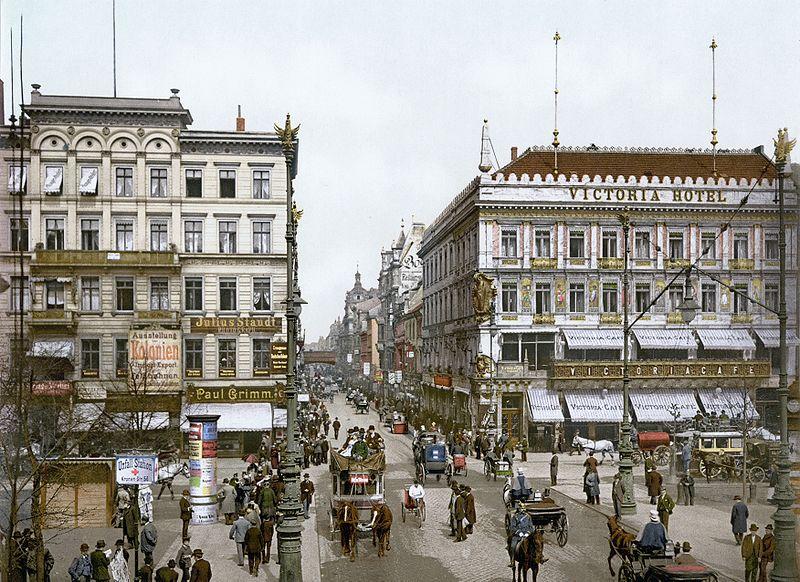 -Berlin_Unter_den_Linden_Victoria_Hotel_um_1900 Berlin Unter den Linden Victoria Hotel um 1900